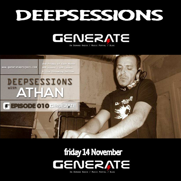 Deepsessions – Nov 2014 @ Generate Project