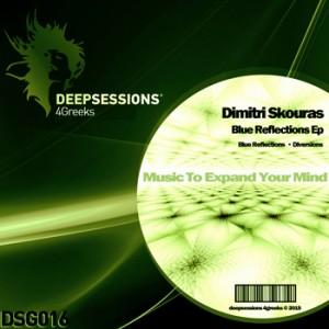 DSG016 Dimitri Skouras – Blue Reflections Ep