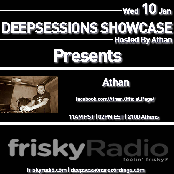 Deepsessions Jan 2018 Mixed by Athan