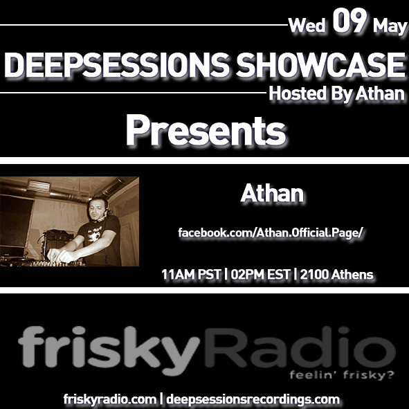 Deepsessions May 2018 Mixed by Athan