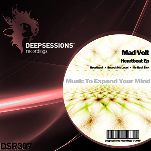 DSR307 Mad Volt – Heartbeat Ep