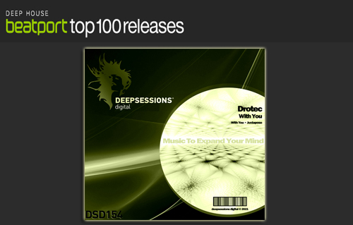 Drotec – With You – Top 100 Deep House @ Beatport
